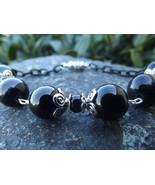 Midnight Black Moon 7 Inch Bracelet - $15.00