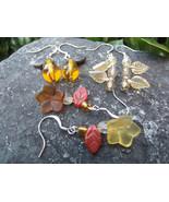 Set Of Three Autumn Dangle Earrings - $15.00
