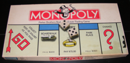 1978 Monopoly Board Game by Parker Brothers No. 9  - $35.00