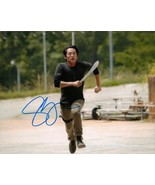 STEVEN YEUN THE WALKING DEAD AUTOGRAPHED PHOTO  - $17.95