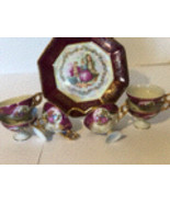 """KPM """"Couple Courting"""" Decorative Plate and Tea Cup Set. - $65.00"""
