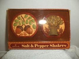 Hallmark Acorn & Wheat Salt & Pepper Shakers - $4.99
