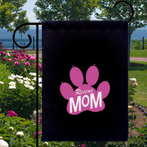 Rescue Mom New Small Garden Flag Dog Cat Adoption Rescues Events - $12.99