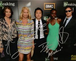 "Lauren Cohan, Norman Reedus, Danai Gurira ""The Walking Dead"" 8X10 AUTOGR... - $59.95"