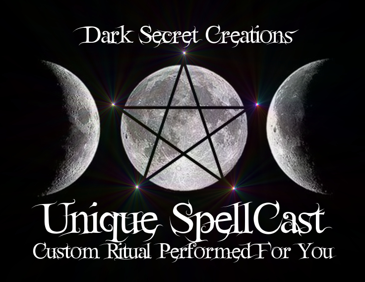 Unique Custom SpellCast Performed For You, Choose A Spell, Very Powerful Spell