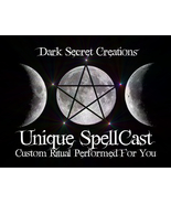 Unique Custom SpellCast Performed For You, Choose A Spell, Very Powerful... - $30.00