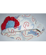 Girls Wiggly Studio Red and Blue Puppy Dog Bucket Hat 6-12 Months NWTags - $14.99