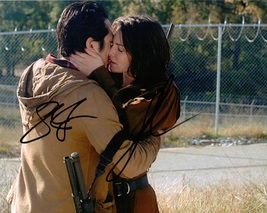 LAUREN COHAN STEVEN YUEN THE WALKING DEAD AUTOGRAPHED PHOTO SIGNATURE 8... - $29.95