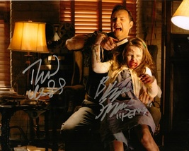 DAVID MORRISSEY AND KYLIE SZYMANSKI SIGNED 8X10 PHOTO AUTOGRAPH THE WALK... - $34.95