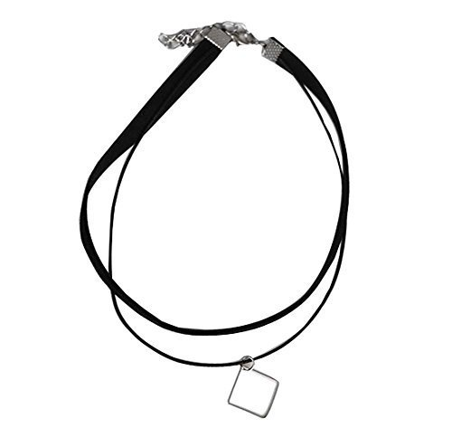 Square Pendant Neck Strap The Fashion Necklace