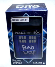 "Doctor Who Bad Wolf TARDIS 6.5"" Vinyl Figure NEW Sealed NIB Titans 10th Dr. - $28.05"