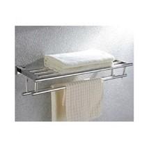Towel Rack Stainless Steel Shelves Bars Wall Mo... - $98.50