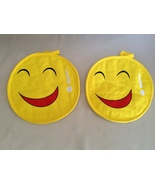 Smiley Face Red Mouth Laughing Hot Pads Kitchen... - $5.00