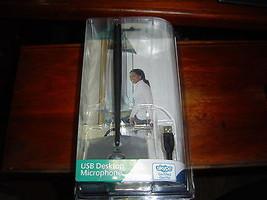 Brand New Factory Sealed Logitech Usb Desktop Microphone 980186 0403 Quick Ship - $96.66