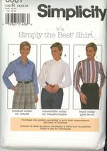 Simplicity 8061 Misses Shirt with variations - Size 14, 16, 18  UNCUT - $2.00