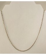 Silver Colored Metal Chain Necklace from a Home Shopping TV Show 20.25 I... - $15.00