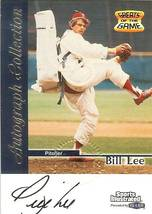 1999 fleer sports illistrated autograph baseball card bill lee boston re... - $9.99