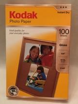 Kodak 4x6 Photo Paper 100 Sheets - $9.51