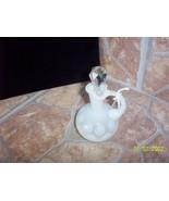 Thumbprint White Opalescent Cruet - $34.65