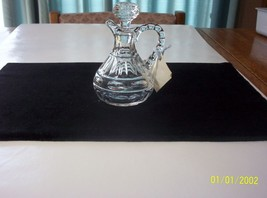 Fostoria Crystal Hermitage Cruet - $39.60
