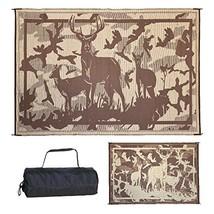 Ming's Mark Inc. Desert Brown 8'x 11' HC8117 Mat Camo Deer 8 X 11 - $56.80