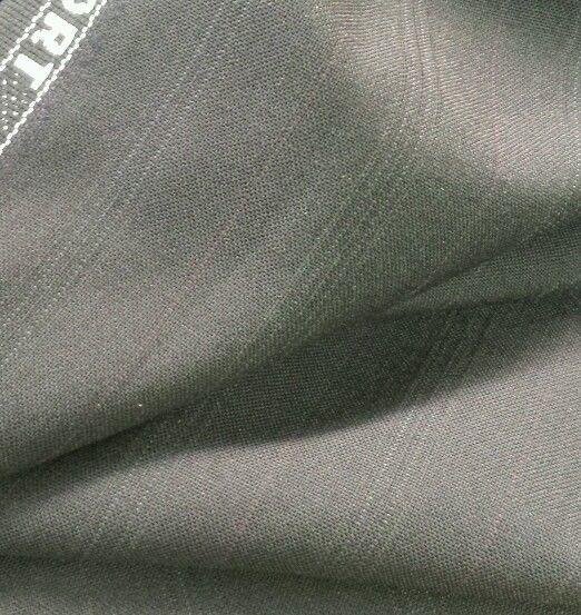 120'S  Italian Wool suit fabric  Blue  Stripe  By the yard