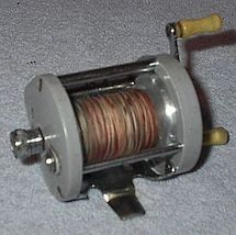 Vintage Bait Casting Fishing Reel Ocean City Model 1591  - $10.00