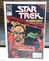 Star Trek The Sentence DC Comic Book 2 Nov 1989 - $1.98