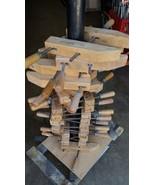 """ONE Vintage Jorgensen 12"""" Wood Wooden Furniture Clamp Threaded Turn Screw - $21.73"""