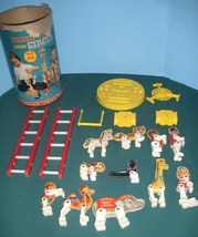 Vintage Fisher Price #902 Junior Circus Loaded/VG-VG++ (B) image 1