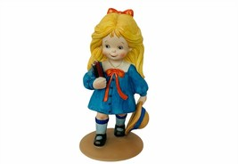 Royal Cornwall Dorthys Day figurine 1980 Sculpture Limited Off to School... - $67.68