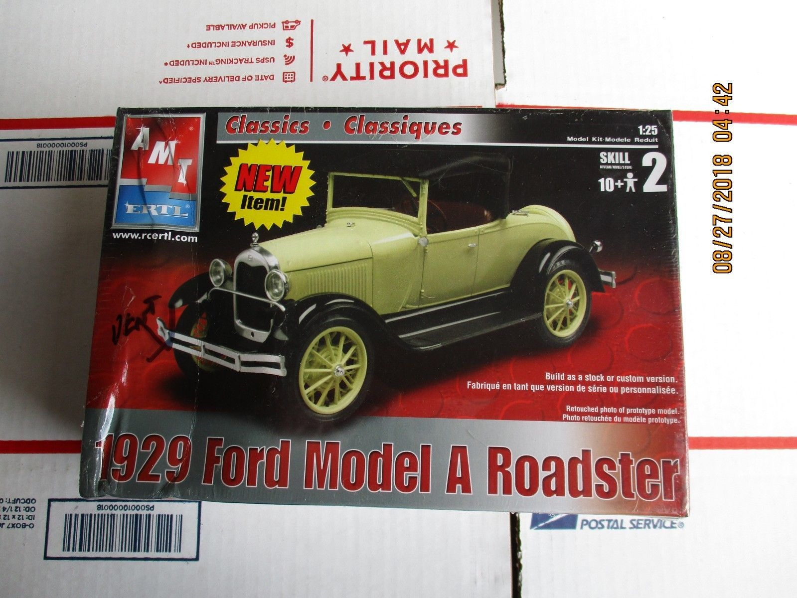 AMT 1929 Ford A Roadster 1/25 scale