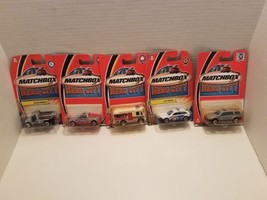 2002 Matchbox Hero City Collection Police Blood Mobile Lot Of 5 #15 11 3... - $24.74