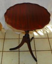 Mahogany Lamp Table / Parlor Table by McClelland - $399.00