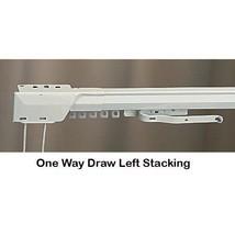 "30"" - 48"" One Way Draw Adjustable Traverse Curtain Rod - Left - $39.99"