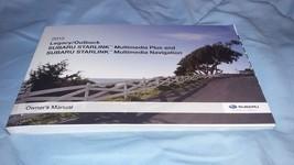 2015 SUBARU Legacy/Outback OWNERS MANUAL Starlink Media & NAVIGATION - $13.98