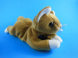 Beanie Babies Beanbag Nip Cat 1993 MWT Unused Stored in Zip Lock Bag - $9.94