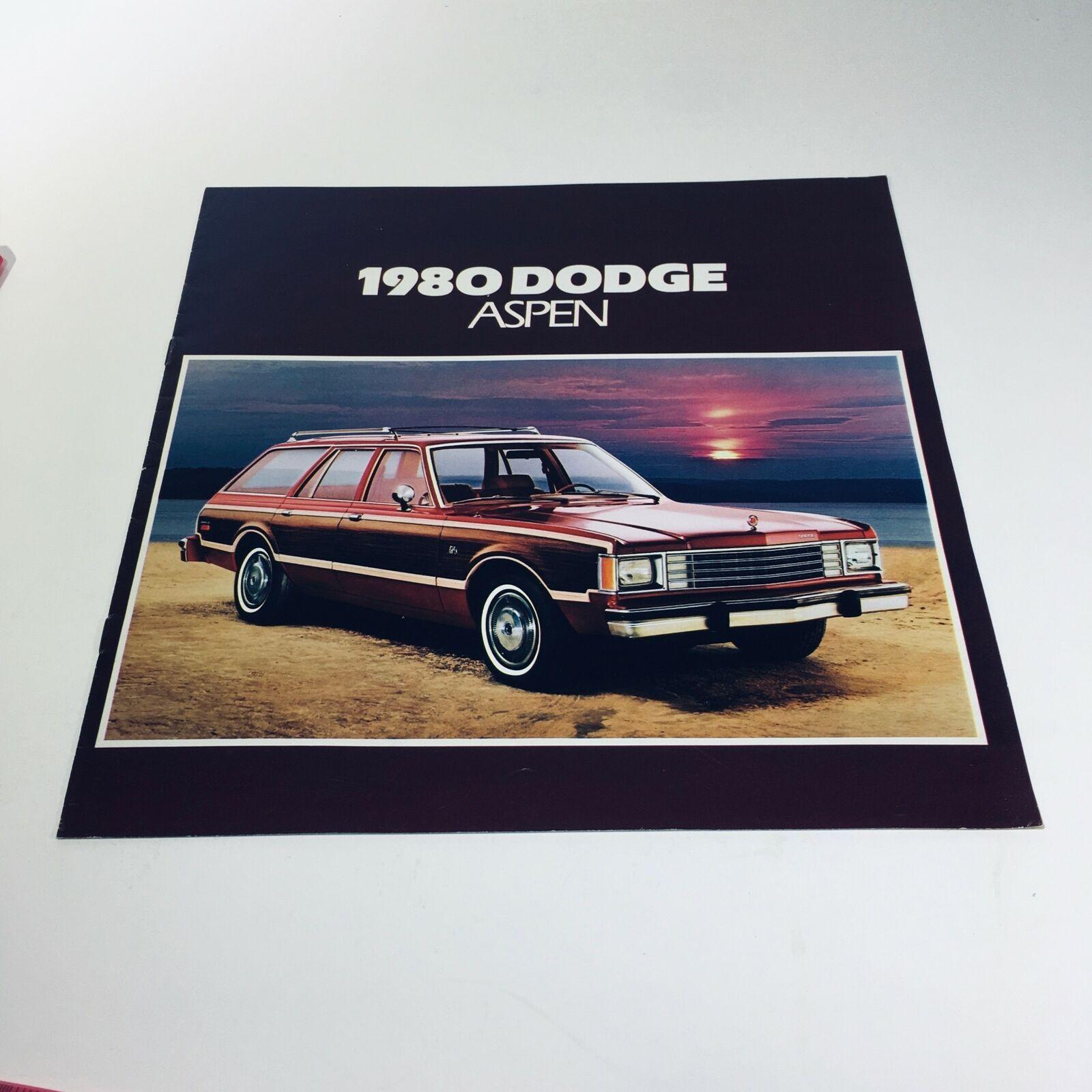 1980 Dodge Aspen Coupe Optional T-Bar Roof Compact Car Sale Brochure - $10.69