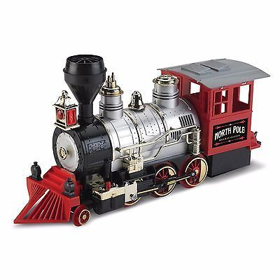 Blue Hat North Pole Junction Christmas Train Set Tree ...