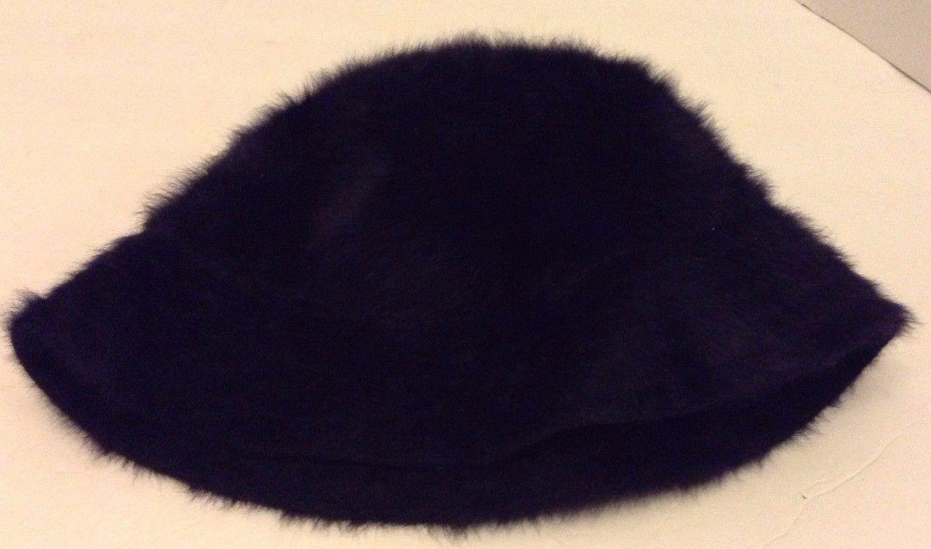 f4a328ca0c3 Men s Kangol Navy Blue Furgora Bucket Hat Cap Angora Blend (Size  Medium)