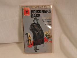 Prisoners Bass Paperback Book Bantam 1326 Rex Stout 1955 - $2.49