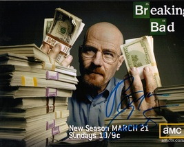 BREAKING BAD CAST by  Bryan Cranston,  Autographed 8x10 photo - $49.95