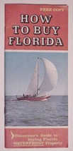 How To Buy Florida Pamphlet 1957 Punta Gorda IslesCharlotte Harbor - $5.95