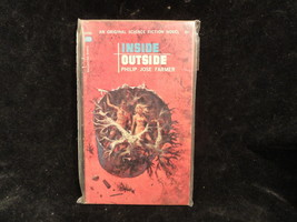 Inside Outside Paperback Book Ballantine U2192 Philip Jose Farmer 1964 - $2.49