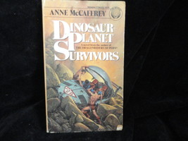 Dinosaur Planet Survivors Paperback Book Ballantine 27246 Anne McCaffert... - $2.49