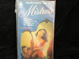 Anatomy Of A Mistress Paperback Book Midwood F3... - $2.84