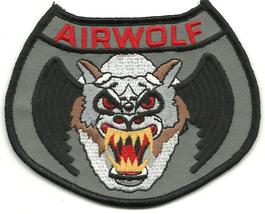 Helicopter Airwolf 1980 TV Series Embroidered Shoulder Patch - $9.95