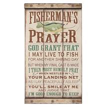 Open Road Brands Fisherman's Prayer Wood Wall Art - $23.21
