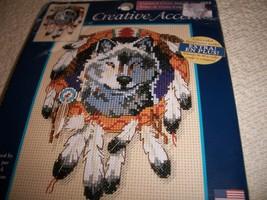 Native Wolf Cross Stitch Kit - $12.00