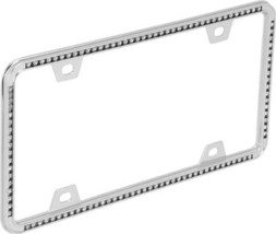 Diamond- Chrome License Plate Frame - $20.39
